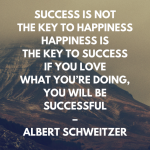 Happiness Is The Key To Success Quote Pinterest