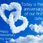 Happy 1st Anniversary My Love Quotes Facebook