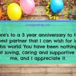 Happy 3rd Anniversary Quotes Tumblr