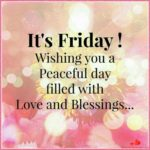Happy And Blessed Friday Images Pinterest