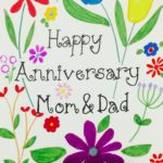 Happy Anniversary Mom And Dad From Daughter Quotes Facebook