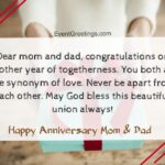 Happy Anniversary Quotes For Mom Dad