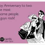 Happy Anniversary To You Both Funny Pinterest