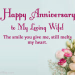 Happy Anniversary Wishes For Wife Twitter