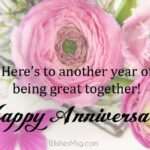 Happy Anniversary Wishes Message Pinterest