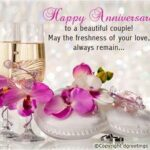 Happy Anniversary Wishes To A Special Couple Pinterest