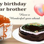 Happy Bday Wishes For Brother