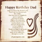 Happy Birthday Dad Quotes From Daughter Pinterest