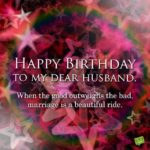 Happy Birthday Dear Hubby Pinterest
