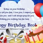 Happy Birthday Message To My Brother Pinterest