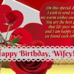 Happy Birthday Message To My Wife Facebook