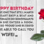 Happy Birthday Message To My Wife Twitter