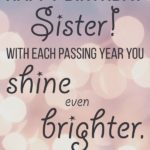 Happy Birthday Sister Quotes Pinterest