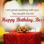 Happy Birthday Wishes For Boss Facebook