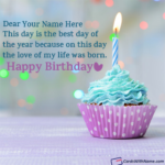 Happy Birthday Wishes With Name Tumblr
