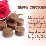 Happy Chocolate Day In Advance Pinterest