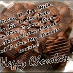 Happy Chocolate Day Wishes For Lover Twitter