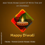 Happy Diwali Wishes With My Name Twitter