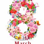 Happy March 8th Women's Day Pinterest