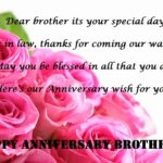 Happy Marriage Anniversary To Brother Twitter