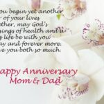 Happy Marriage Anniversary To Parents