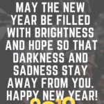 Happy New Year 2019 Short Quotes Facebook