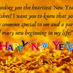 Happy New Year Quotes For Someone Special Pinterest