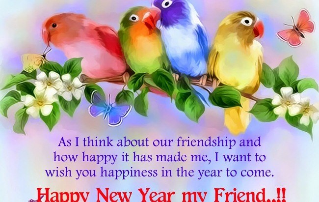 Happy New Year To My Best Friend Quotes Facebook