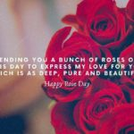 Happy Rose Day My Love Pic Pinterest