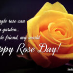 Happy Rose Day To Friends Twitter