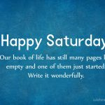 Happy Saturday Quotes And Sayings Tumblr