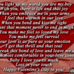 Happy Valentines Day Boyfriend Poems Twitter