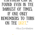 Harry Potter Happiness Quote
