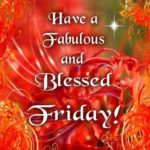 Have A Blessed Friday Images