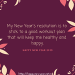 Healthy Happy New Year Quotes Twitter