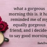 Heart Touching Good Morning Messages For Friends Pinterest