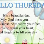 Hello Thursday Quotes Facebook