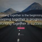 Henry Ford Working Together Success Quote Facebook