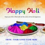 Holi Wishes Images With Name