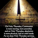 Holy Thursday Quotes Tumblr