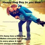 Hug Day Quotes For Friends Facebook