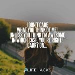 I Dont Care Quotes Images Facebook