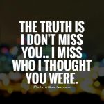 I Dont Miss You Quotes Twitter