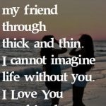I Love You My Best Friend Forever Facebook