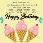 Ice Cream Birthday Card Sayings Twitter