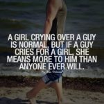 If A Boy Cry For A Girl Quotes Tumblr