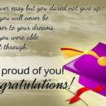 Inspirational Quotes For Graduating Seniors From Parents