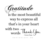 Inspirational Thank You Quotes Tumblr