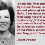 Janet Frame Quotes Twitter