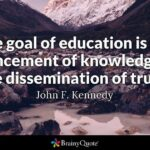 John F Kennedy Quotes On Education Facebook